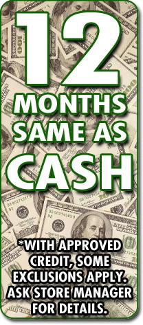 12 Months - Same as Cash!